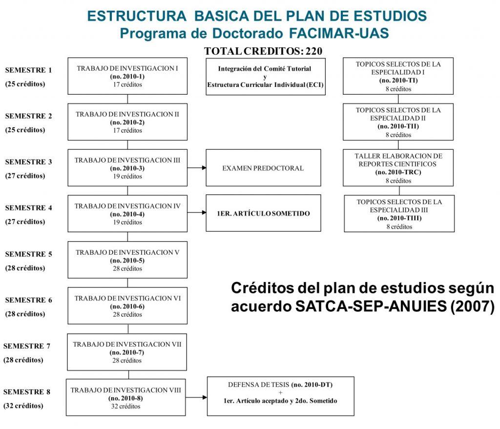 Mapa Curricular 2007